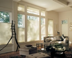 Duette Honeycomb Window blinds and shades